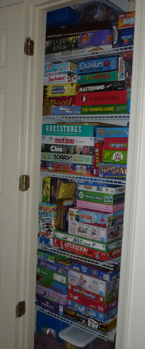 Organized Chaos: Organizing Our Games. Our Family Game Closet