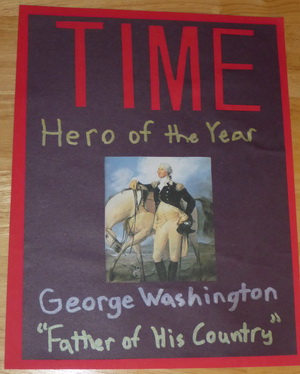 Time Magazine Hero of the Year Social Studies school project