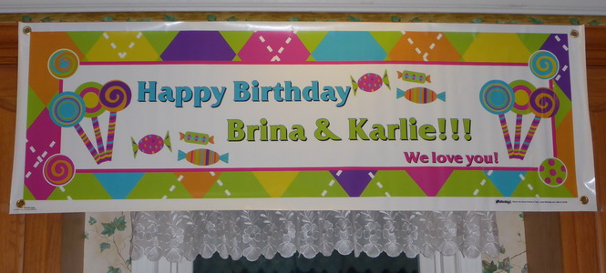 Brina and Karlie Birthday