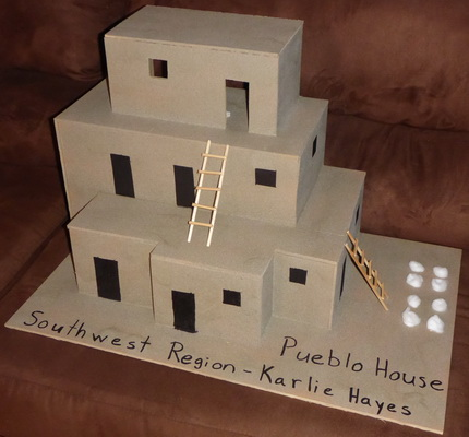 Build Adobe House School Project