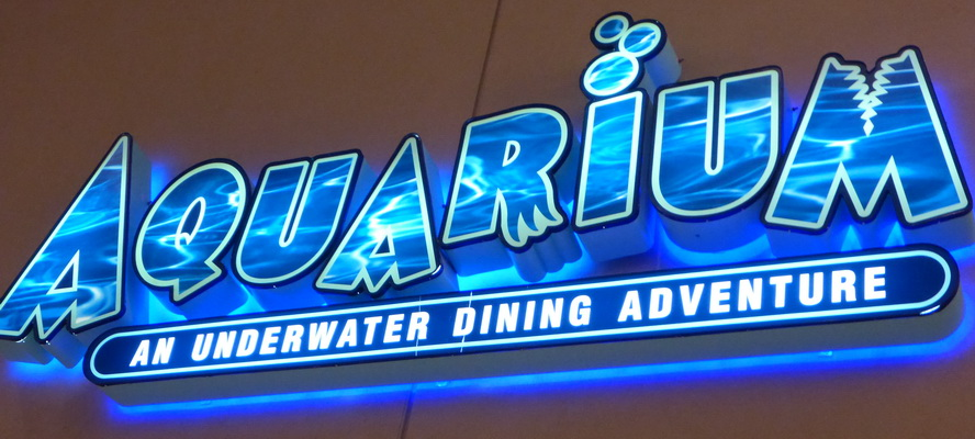 Travel vacation aquarium underwater dining adventure for Best places for dinner in nashville