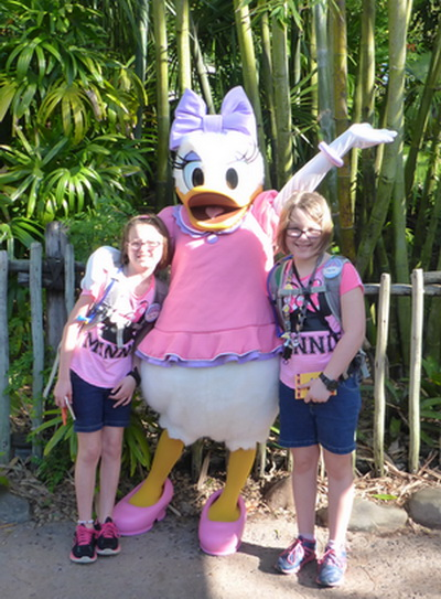 Daisy Duck at Disney Animal Kingdom
