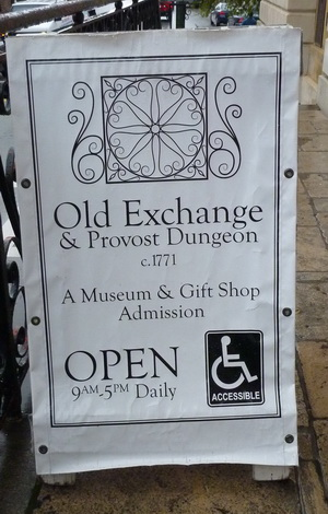 Travel & Vacation - Charleston - SC - Old Exchange & Provost Dungeon -P1490414c