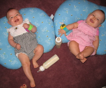 Flashback Friday - They think they are so funny - Brina and Karliec