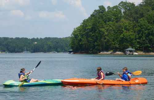 WJC&B Work and Family Event at Lake Keowee